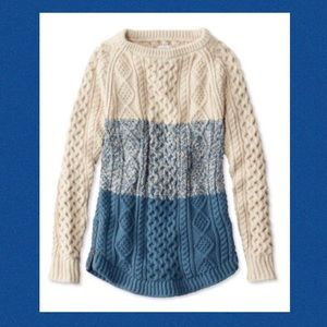 ISO: This Small LL Bean Fisherman Sweater